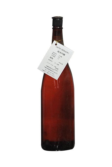 昭和62年(1987年)千葉県 岩瀬酒造 純米吟醸古酒 1800ml 要低温