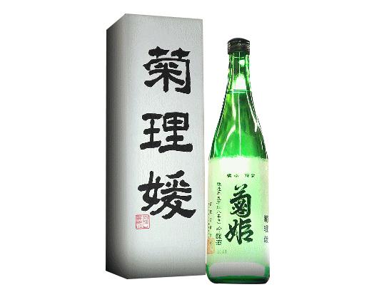 石川県 菊姫 菊理姫(ククリヒメ)醸造年度平成19年(2007年)度以降瓶詰2018年9月以降720ml オリジナル化粧箱入