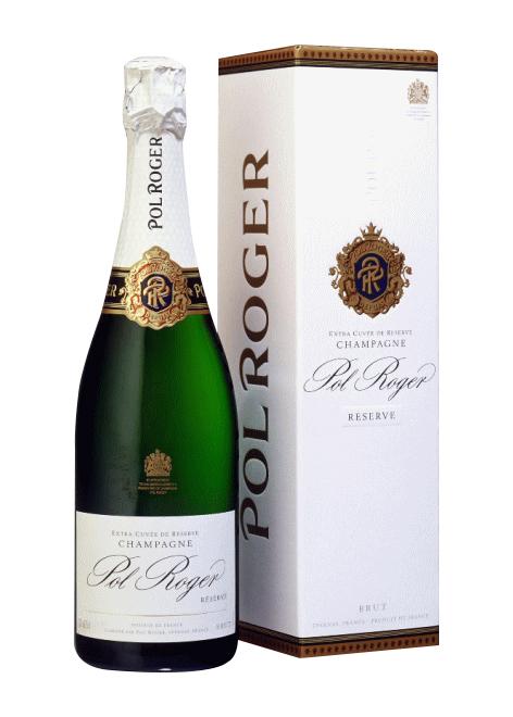 ポル・ロジェ ブリュット リゼルヴァNV 750ml 白 泡 辛口 【化粧箱付】英国ロイヤル ウエディング シャンパン!
