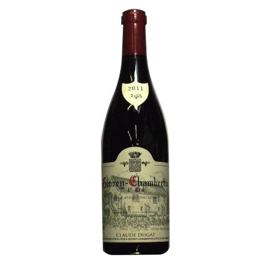 [2011]ジュヴレ シャンベルタン 1er Cru750ml 赤 クロード デュガ