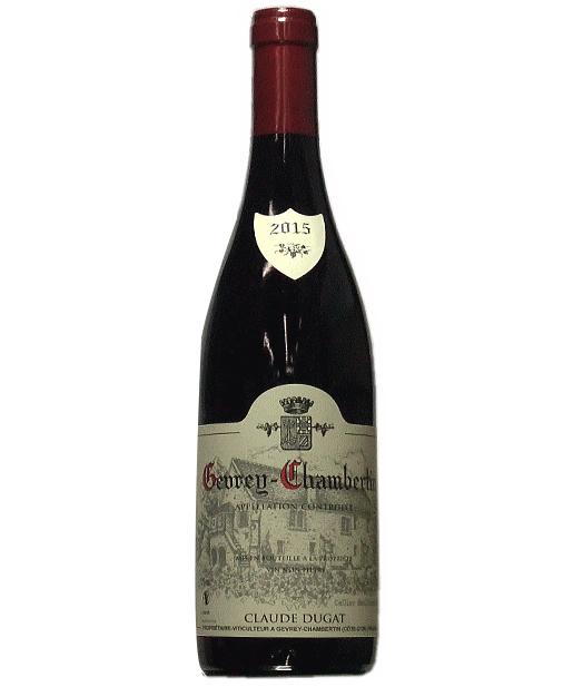 [2015]ジュヴレ シャンベルタン 750ml 赤 クロード デュガ リアルワインガイド91+/92+