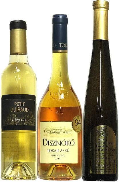 【貴腐ワイン】【極甘口】 世界3大貴腐ワインセット 【送料無料】(沖縄・離島は対象外】