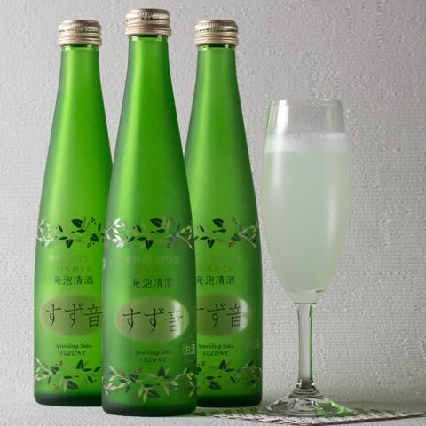 一ノ蔵 すず音(すずね)発泡日本酒3本セット[宮城県](クール便利用)