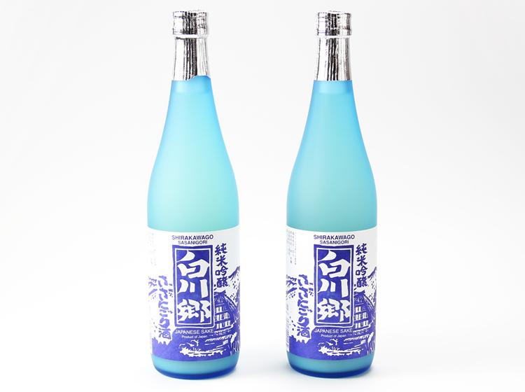【海外向け限定】純米吟醸 白川郷ささにごり酒 720ml2本セット【日本国内には発送できません】