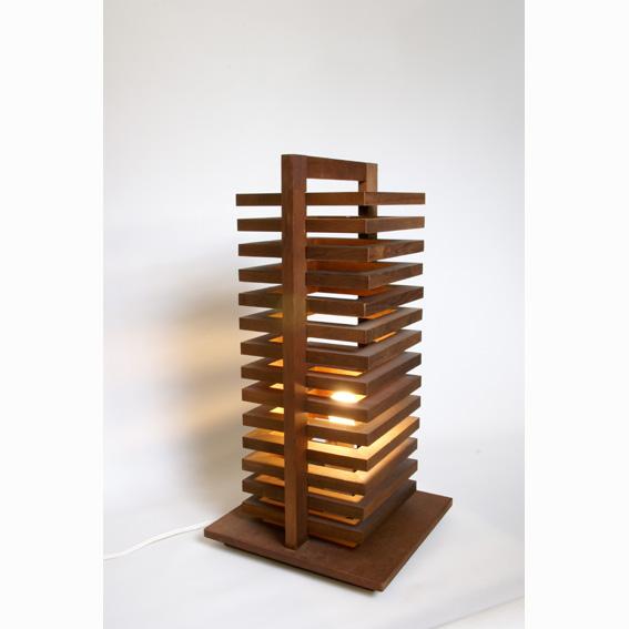 hikidashi ヒキダシ テーブルスタンド ダークブラウン(HD-201) デザイン 照明 リビング 寝室 インテリア【代引き不可】