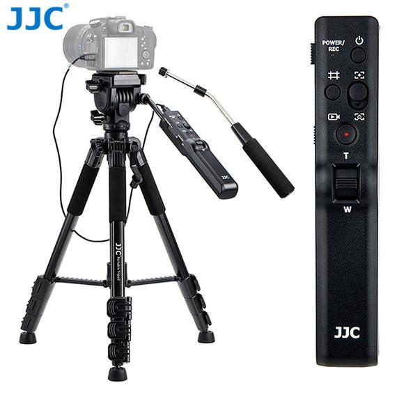 送料無料 当店オススメ 折り畳み可能 クイックシュー 耐荷重5kgまで ロックリング 正規品 滑り止めデザイン 3ウェイオイルフリュード 360°パノラマスケール デジカメ カメラ用 JJC リモートコントロール 三脚 ビデオカメラ 一眼レフ用 リモコン ソニー VCT-VPR1 A7III ZV-1 A6600 多機 Sony IV II 51-151cm4段階伸縮 A7S 取り外し可能なリモコン などが適用 A1 A6500 RX10IV 激安通販専門店 A9 互換品 A7R III