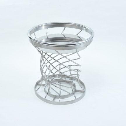 フラワーバスケット 彩の器(匠) フラワースタンド 花立 フラワー 花 花瓶 ステンレス