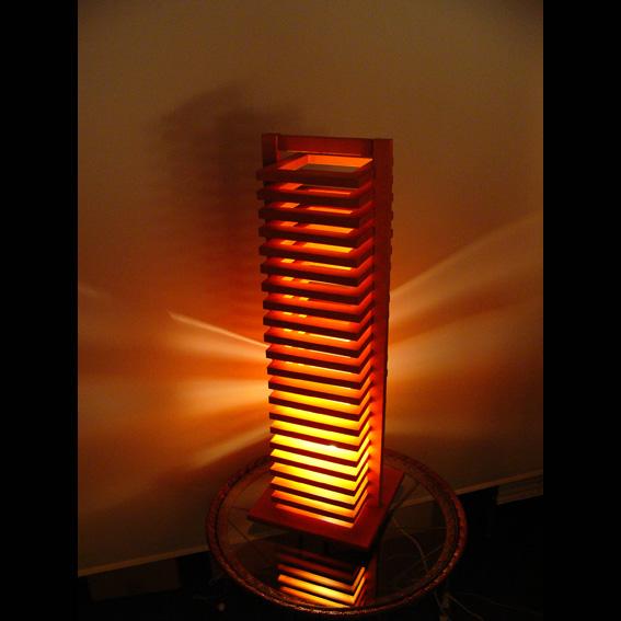 hikidashi ヒキダシ フロアスタンド ライトブラウン(HDF-101) デザイン 照明 リビング 寝室 インテリア【代引き不可】【送料無料】