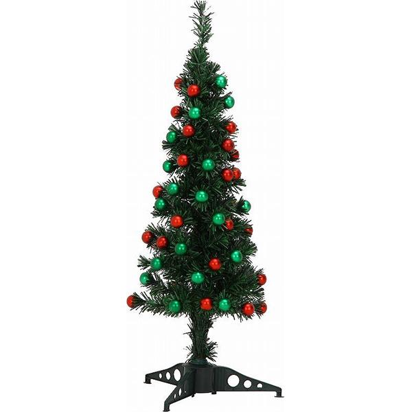 ファイバーツリー グリーン 120cm【aks】 / クリスマス クリスマスツリー ツリー 装飾