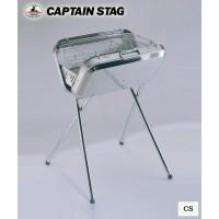 CAPTAIN STAG フラッグ ステンレスV型バーベキューコンロ M-6490