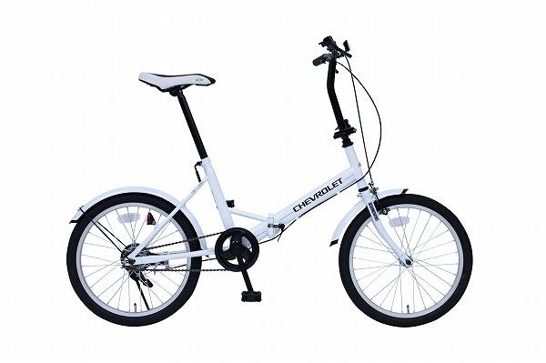 CHEVROLET FDB20E ホワイト【MG-CV20E】 / 自転車 サイクリング スポーツ 【代引不可】(北海道・沖縄・離島送料別途)