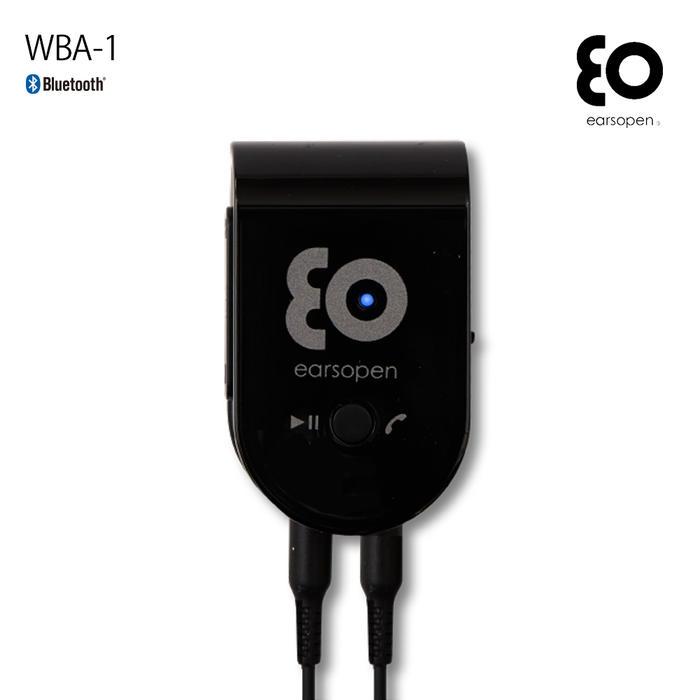 BOCO ポータブルヘッドホンアンプ earsopen WBA-1(黒) for music Bluetoothタイプ (Bluetooth対応 ハイレゾ級 超小型アンプ WBA1B)