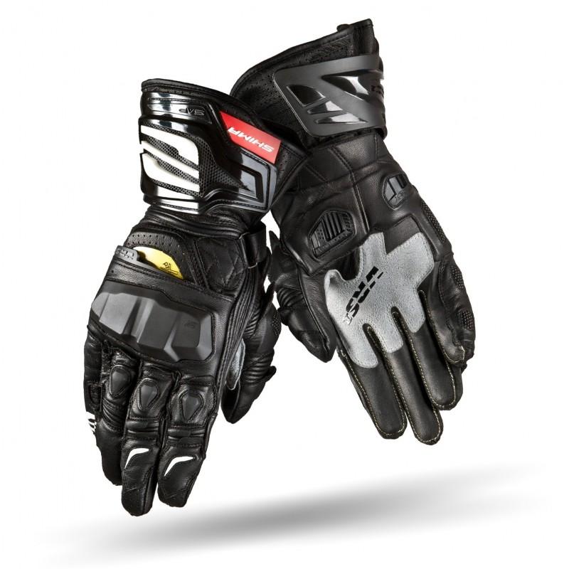 在庫処分 VRS-1 スーパースポーツグローブ アナリンレザー 2色(ブラック/ホワイト) SHIMA シマ バイクグローブ