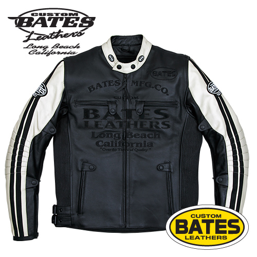 BATES BAJ-127TT BATES (Bates) leatherette jacket (real leather)