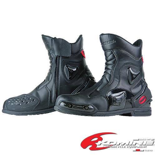 コミネ BK-067 プロテクトスポーツショートブーツ KOMINE 05-067 PROTECT SPORT SHORT BOOTS