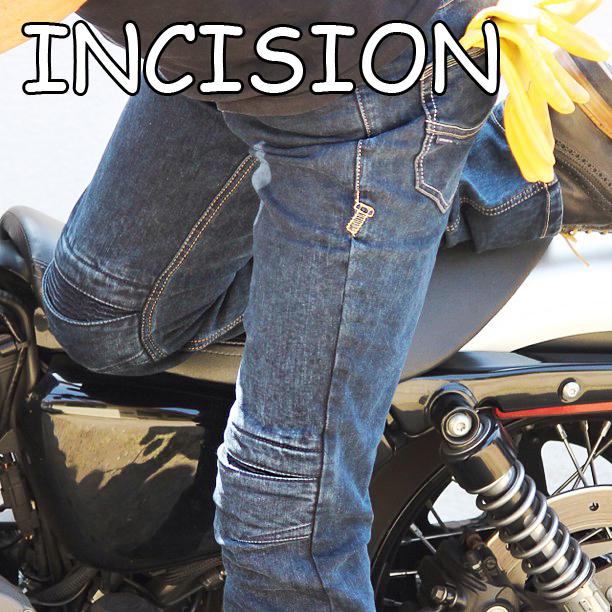 アグリーブロス インシジョン uglyBROS MOTO PANTS INCISION アグリブロス バイクパンツ ライディングジーンズ バイク用デニム ジーンズ