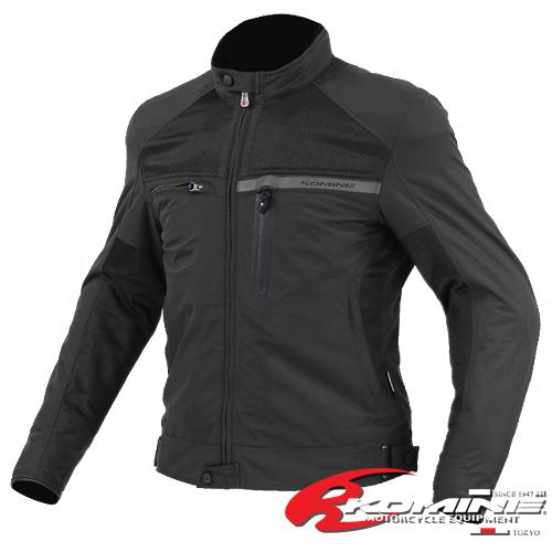 komine JK-553混合乘车茄克-akutiumu[黑/M/L/XL]KOMINE 07-553 Hybrid Riding Jacket ACTIUM[Black/M/L/XL]