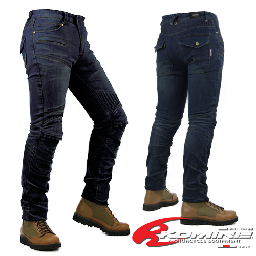 pretty nice 57068 f585c 07-718 Komine PK -718 super fitting Kevlar denim jeans KOMINE Super Fit  Kevlar Denim Jeans