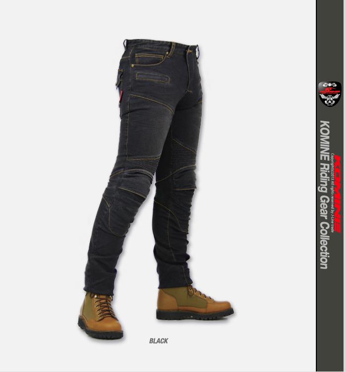 07-718 Komine PK -718 super fitting Kevlar denim jeans KOMINE Super Fit Kevlar Denim Jeans