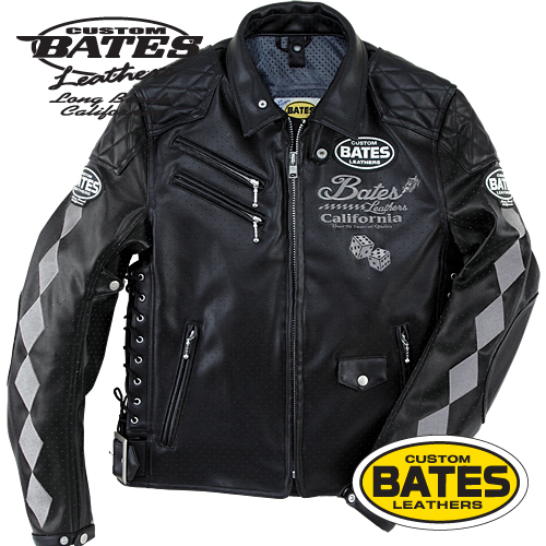 SA-F1517ST ベイツ パンチホールシンセティックレザージャケット BATES SA-F1517ST Punched Hole Synthetic Leather Jackets