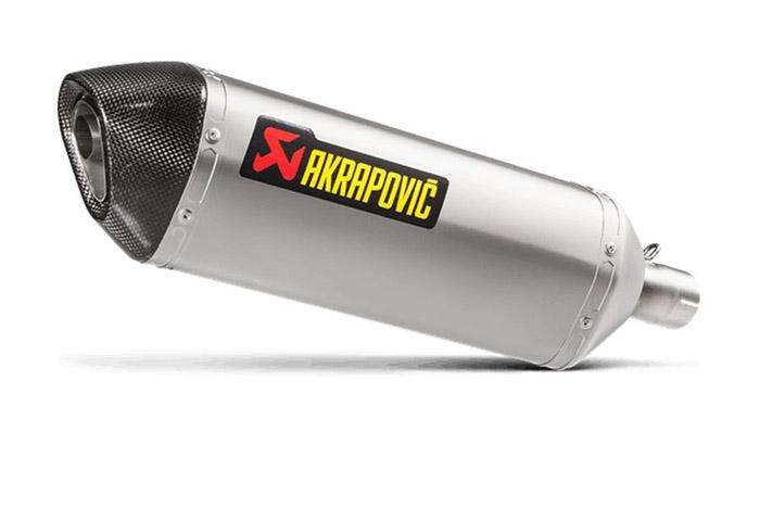 直送品 アクラポビッチ S-K3SO2-HZTJPP スリップオン HEXA チタン JMCA VERSYS-X250 17-19 AKRAPOVIC