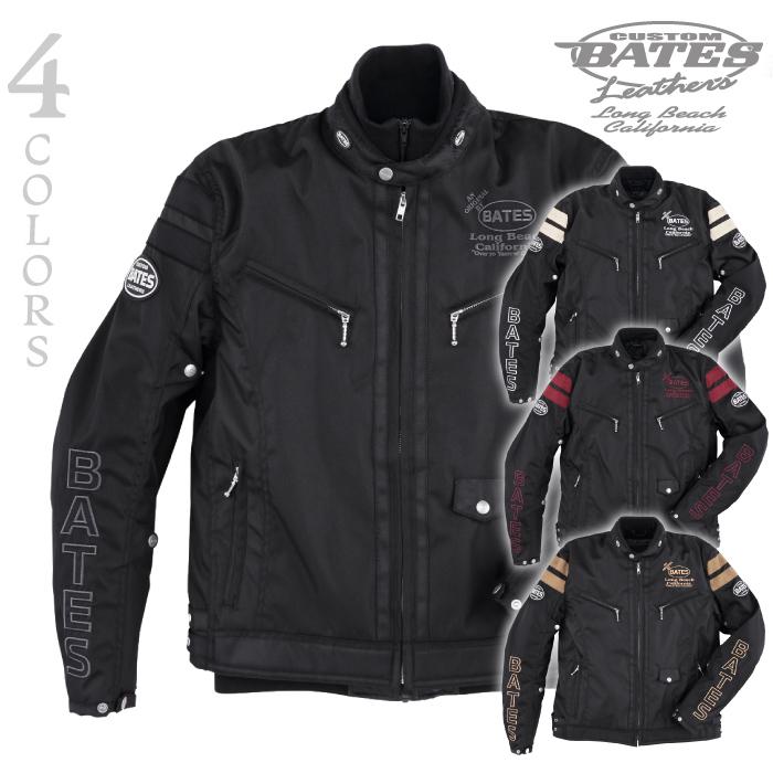 ベイツ BJ-NA1952TT ナイロンジャケット ロングシーズン BATES 中綿入りインナージャケット付き プロテクター付き バイクジャケット 2020年モデル