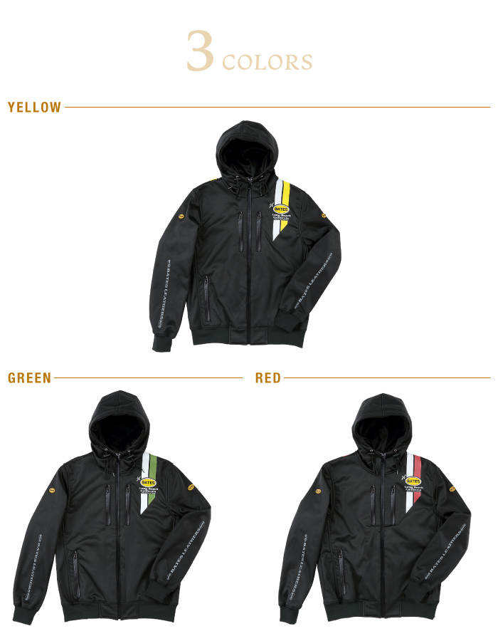 ベイツBOP-07P防風インナーパーカーBATES2019年モデル秋冬バイクインナーカジュアルおしゃれ男性メンズ