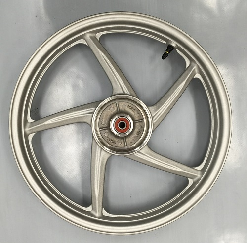 スーパーカブ110用 リアキャストホイール 海外ホンダ純正部品 チューブレスタイヤ仕様 リアホイール HONDA CAST WHEEL REAR