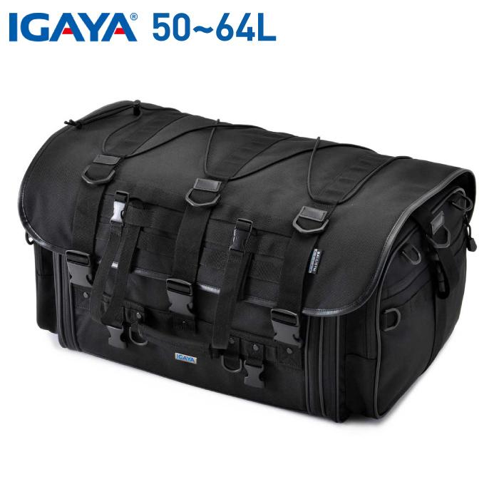 イガヤ キャンプツーリングシートバッグ 50-64L IGAYA IGY-SBB-R-0040