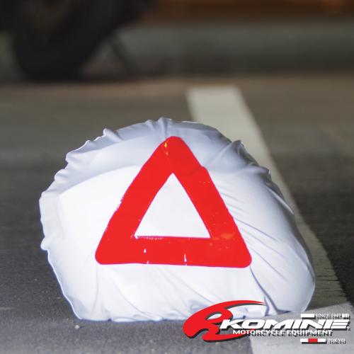 市場限定 全品送料込価格! 東京都内から発送 コミネ AK-326 三角表示付きヘルメットバッグ KOMINE 09-326