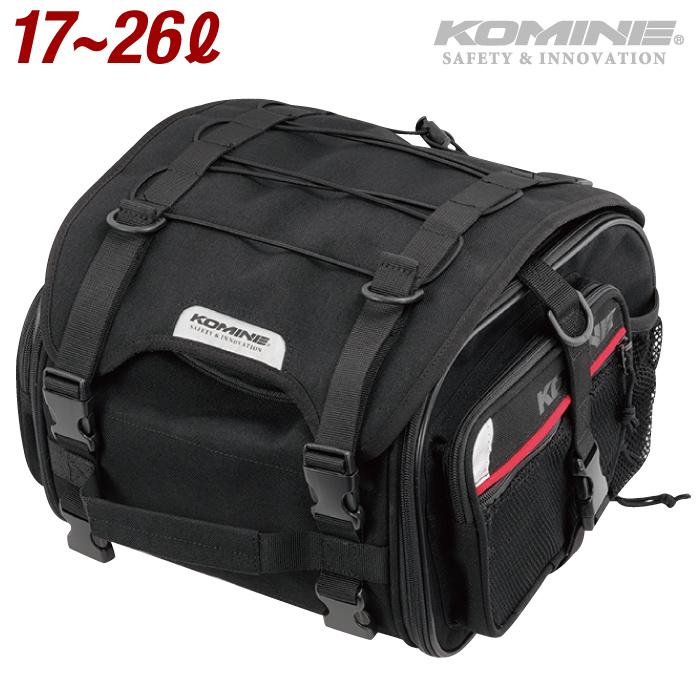 市場限定 全品送料込価格 新作送料無料 デポー 東京都内から発送 コミネ SA-240 ツーリングシートバッグ 最大26L 汎用 2020年モデル ツーリング 09-240 KOMINE