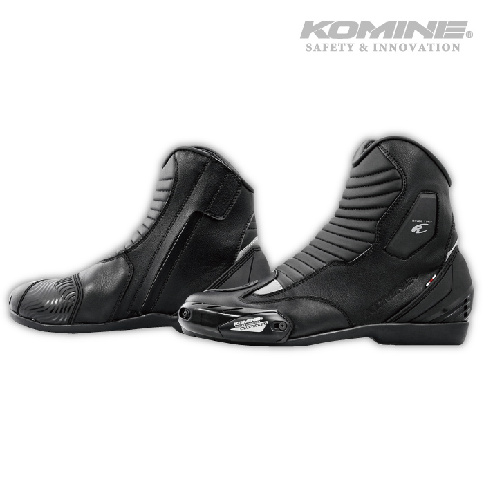 店内全品2倍ポイント 豊富な品 スーパーSALE実施中 コミネ BK-085 ウォータープルーフライディングショートブーツ KOMINE 05-085 ブーツ 防水 即日出荷 2020年モデル バイク