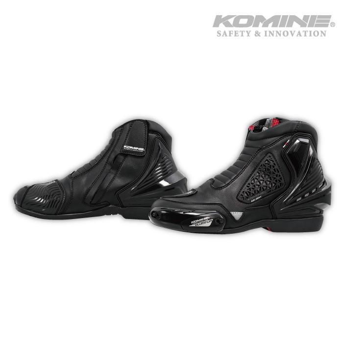 コミネ BK-086 エアスルーライディングシューズ KOMINE 05-086 春夏 バイク ショートブーツ フットギア 防水 ライディング 2020年モデル