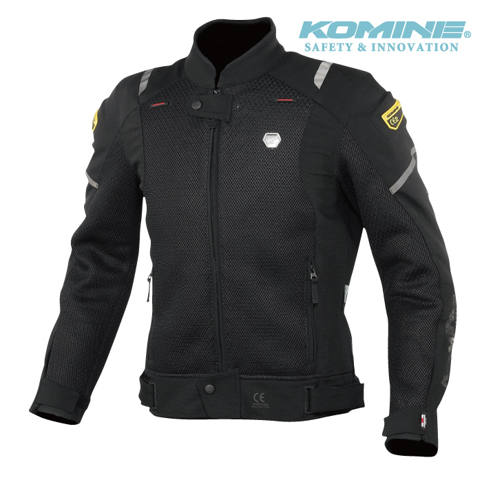 コミネ JK-148 スプリームプロテクトメッシュジャケット KOMINE 07-148 春夏 バイク ジャケット スポーティ メンズ CE適合パッド付 2020年モデル