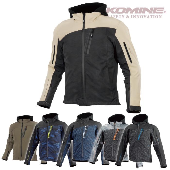 コミネ JK-590 プロテクトソフトシェルウインターパーカ KOMINE 07-590 バイクジャケット 秋冬 2018年モデル