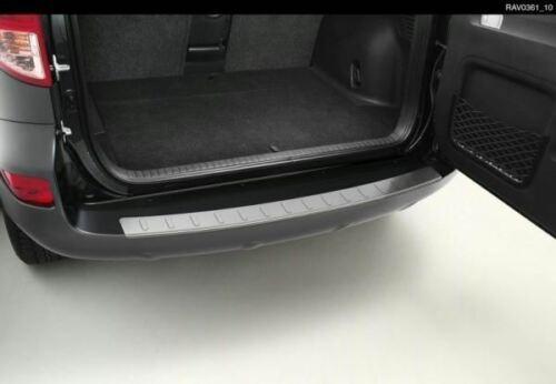 【30系RAV4】リアバンパープロテクションプレート シルバー色ステンレススチール 海外仕様純正アクセサリー