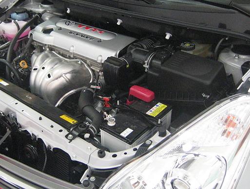【10系ウィッシュ】エンジンカバー 1AZ-FSE型用 シルバーメタリック色 海外仕様純正部品