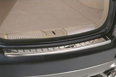 【Z51系ムラーノ】リアバンパープロテクションプレート シルバー色ステンレススチール 海外仕様純正アクセサリー