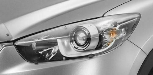 【KE系CX-5】「CX-5」ロゴ入りヘッドライトプロテクター 海外仕様純正アクセサリー