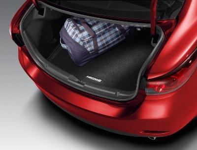 【GJ系MAZDA6(アテンザ) セダン】「Mazda6」ロゴ入りカーペットカーゴマット 海外仕様純正アクセサリー