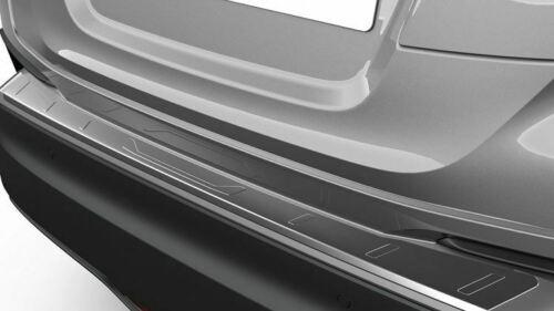 【10系C-HR】リアバンパープロテクションプレート シルバー色ステンレススチール 海外仕様純正アクセサリー