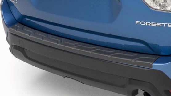 【SK系フォレスター】リアバンパーカバーステップパッド ブラック色プラスチック 海外仕様純正アクセサリー