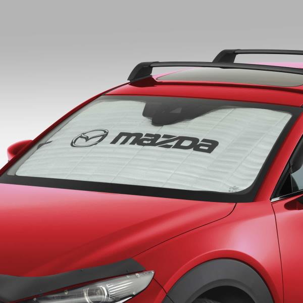 【DM系CX-30】「MaZDa」ロゴ入り サンスクリーン 海外仕様純正アクセサリー