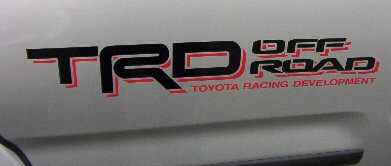 【10系FJクルーザー】輸出仕様純正ステッカー「TRD OFF ROAD」
