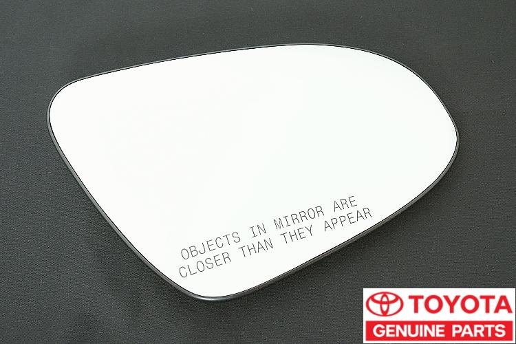 【10系C-HR】輸出仕様 純正 右側ドアミラー用英字入り鏡面 BSM無し