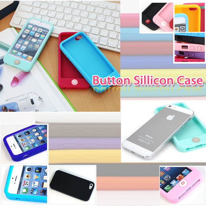 Button Silicon case