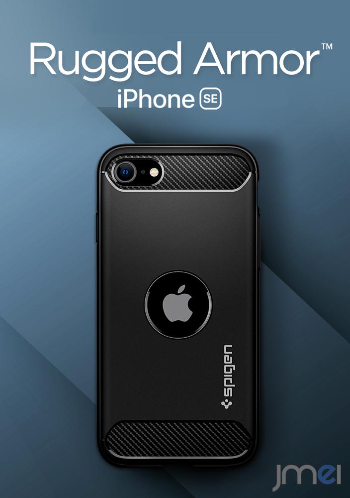iPhone SE2 ケース Spigen Rugged Armor iPhone12 Pro Max iphone5S SE アイフォンケース スマホケース ス simフリー 12 mini 米軍MIL規格取得 予約販売品 メール便 ブランド 耐衝撃 XS 衝撃吸収 落下 即納送料無料! 送料無料 第2世代