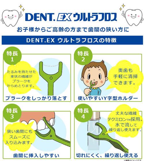 Beauty Science 40 Motoiri Ltlt Lion Dentex Ultra Floss