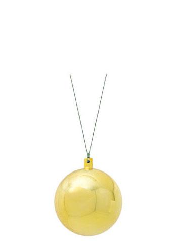 クリスマス オーナメント デコレーション 装飾 上品 カラフルボール ゴールド6ケ入り 80mmメタリックユニボール スーパーセール期間限定