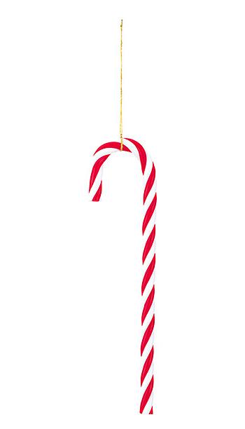 クリスマス オーナメント デコレーション 装飾 キャンディーボール パック セール 全長:15cmキャンディーケーン ホワイト 6本 レッド 美品